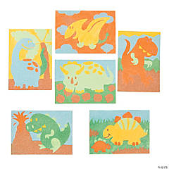 Dinosaur Sand Art Sets