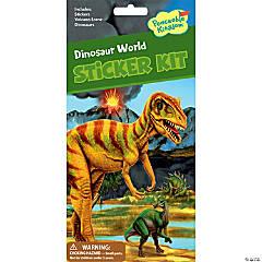 Dinosaur World Quick Sticker Kit