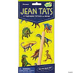 Dinosaurs Jean Tats Pack