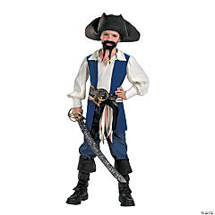 Disney Captain Jack Sparrow Standard Costume for Boys