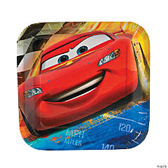 Disney Cars Grand Prix Dream Dessert Plates