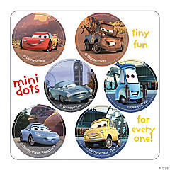 Disney® Cars Mini Dot Stickers