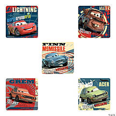 Disney Cars 2: Secret Mission Stickers