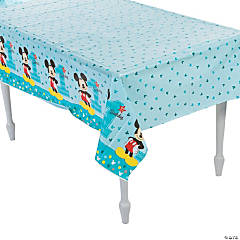 Disney® Mickey's Fun To Be One Plastic Tablecloth
