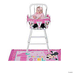 Disney® Minnie's Fun To Be One High Chair Kit