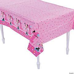 Disney® Minnie's Fun To Be One Plastic Tablecloth
