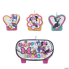 Disney Minnie's Happy Helpers Birthday Candles