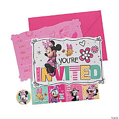 Disney Minnie's Happy Helpers Invitations