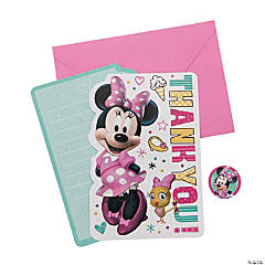 Disney Minnie's Happy Helpers Thank You Cards