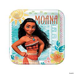 Disney Moana Paper Dinner Plates