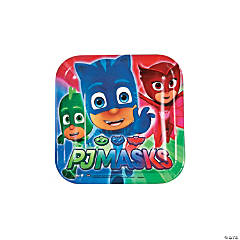 Disney® PJ Masks Square Paper Dessert Plates