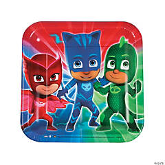 Disney® PJ Masks Square Paper Dinner Plates