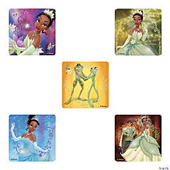 Disney Princess & the Frog Glitter Stickers
