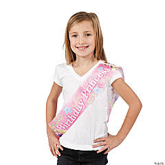 "Disney Princess ""Birthday Princess"" Sash"