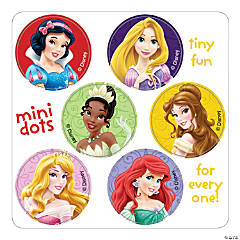 Disney Princess Mini Dots Stickers