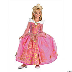 Disney Princess Sleeping Beauty Aurora Prestige Girl's Princess Costume