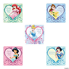 Disney Princess Valentine Stickers