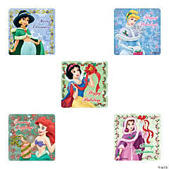Disney Princesses Christmas Stickers