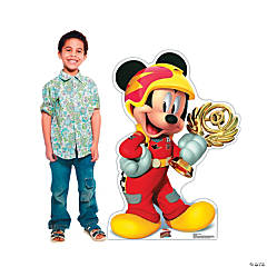Disney&#8217;s Mickey & the Roadster Racers<sup>&#8482;</sup> Mickey Trophy Stand-Up