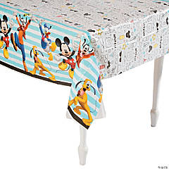 Disney<sup>&#174;</sup> Mickey on the Go Plastic Tablecloth