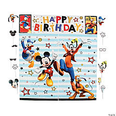Disney<sup>&#174;</sup> Mickey On The Go Scene Setter & Photo Stick Props