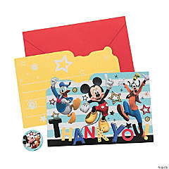 Disney<sup>&#174;</sup> Mickey on the Go Thank You Cards