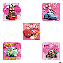 Disney's Cars Valentine Stickers