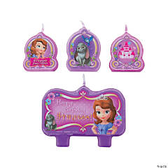 Disney's Sofia the First Birthday Candles