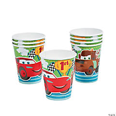 Disney's Cars 1st Birthday Champ Cups