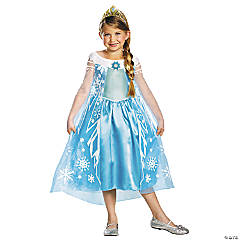 Disney's Frozen Deluxe Elsa Costume for Girls