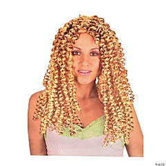 Diva Crimped Blonde Wig