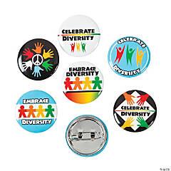 Diversity Mini Buttons
