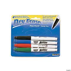 Dixon Fine Tip Dry Erase Marker Set