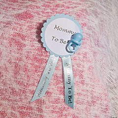 DIY Baby Shower Pin Idea