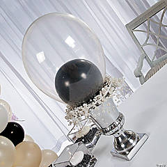 DIY Balloon Topiary Idea