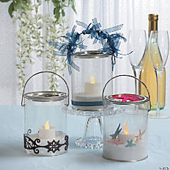 DIY Bucket Container Centerpieces Idea
