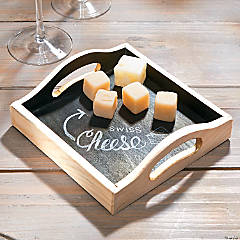 DIY Chalkboard Tray Idea