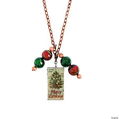 DIY Christmas Necklace Idea
