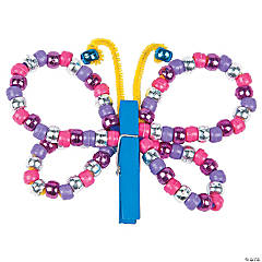 DIY Clothespin Butterfly Idea