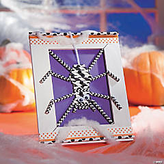 DIY Cute Halloween Spider Decorating Idea