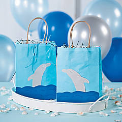 DIY Dolphin Favor Bags