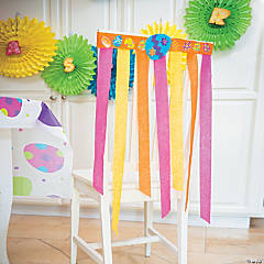 DIY Easter Chair Covers Idea