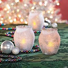 DIY Epsom Salt Candleholders Idea