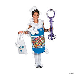 DIY Giant Bubble Bottle Costume Idea
