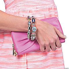 DIY Glitter Bracelet Idea