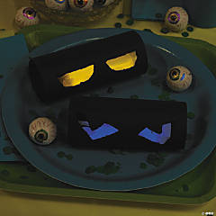 DIY Glowing Monster Eyes Idea