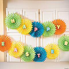 DIY Happy Easter Fans Idea