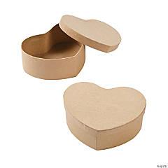 DIY Heart Boxes