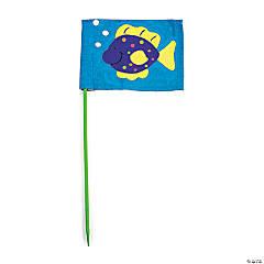 DIY Mini Flags - 48 pcs.