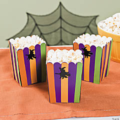 DIY Mini Halloween Popcorn Boxes Idea